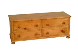 4 - 4 Drawer Bed Chest